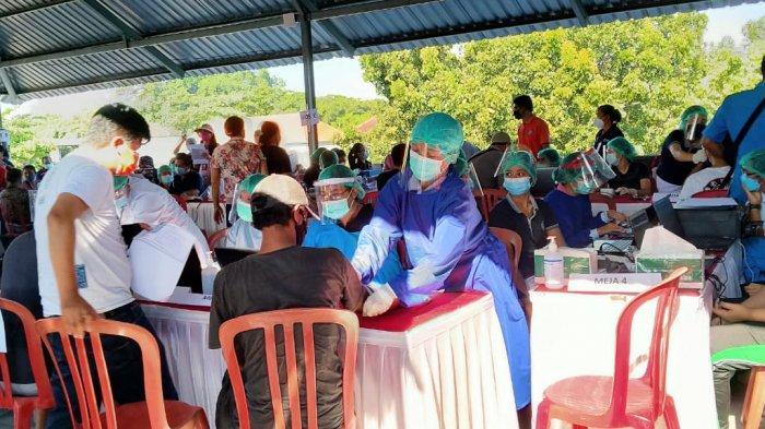 Ini JADWAL VAKSINASI Covid-19 di Wilayah Desa Kelurahan di Kota Denpasar hingga Akhir April 2021