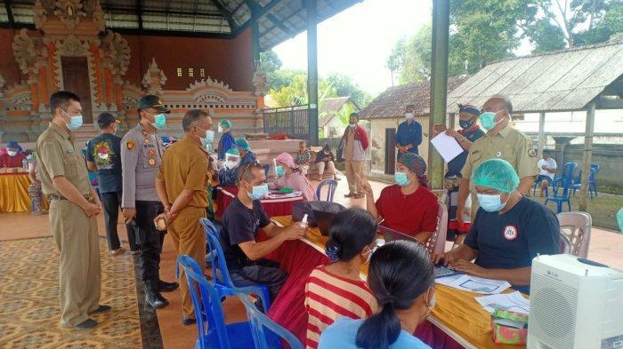 Sasaran Vaksinasi Bergeser ke Kota Kecamatan, 5 Ribu Lebih Warga Desa Sulahan Bangli Jadi Sasaran