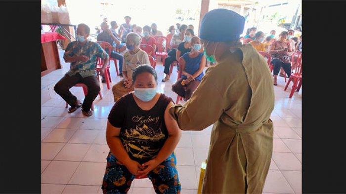 Kasus Positif Covid-19 Bertambah 17 Orang, Vaksinasi di Buleleng Sasar Warga Usia Diatas 18 Tahun