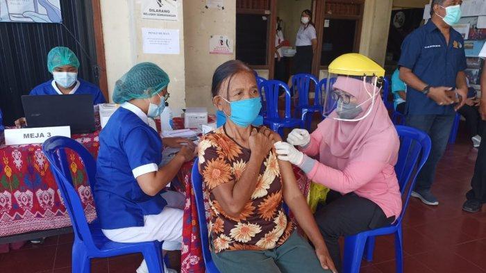 Vaksinasi Covid-19 di Kota Denpasar, Tenaga Medis 18.968 Orang dan Lansia 27.112 Orang