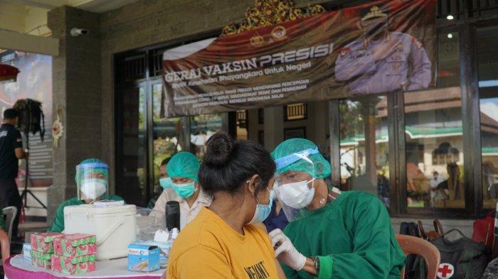 Gerakan Vaksinasi Serentak Di Bangli Terus Digencarkan, Peminat Vaksinasi Meningkat