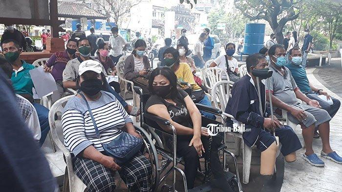 Trimo Kini Merasa Lebih Tenang, 380 Disabilitas di Denpasar Ikut Vaksin Covid-19
