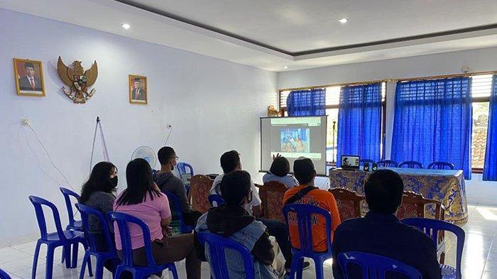 Jelang Peringatan Hari Bakti Pemasyarakatan, Bapas Denpasar Gelar Webinar dan Beri Penyuluhan Hukum