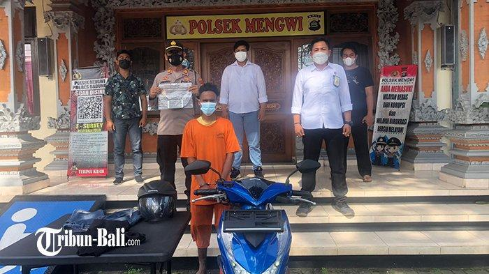Pura-Pura Beli Pulsa, Buruh Bangunan Asal Sumba Colong Iphone di Galeri Ponsel Mengwi Badung