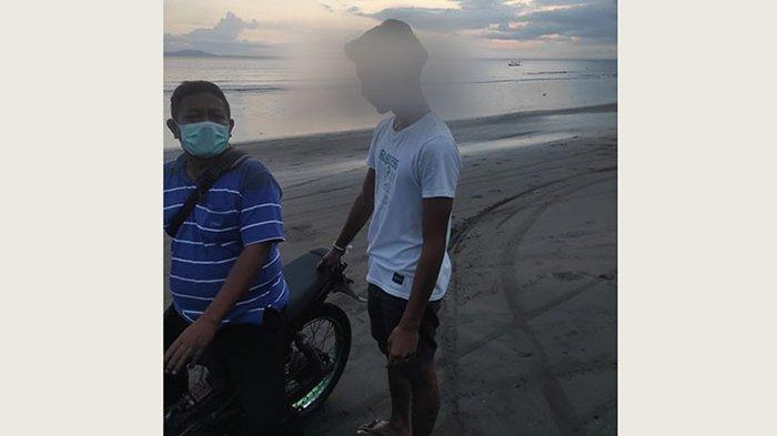 Pelaku Trek-trekan di Pantai Pebuahan-Baluk Rening Jembrana Diciduk