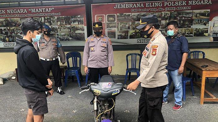 Polisi Beri Waktu Pelaku Trek-trekkan di Jembrana Lengkapi Surat Motor, Bila Tak Ada, Bisa Dipidana