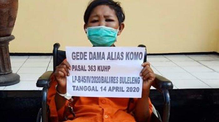 Mencuri di Asrama TNI, Komo Dihadiahi Timah Panas oleh Polisi
