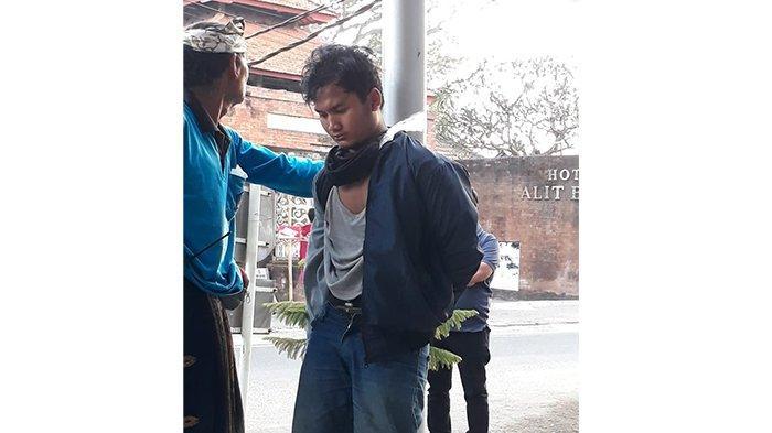Mencuri Sejumlah Rokok dan Uang di Mini Market, Putu Galang Ramadan Diamankan Petugas
