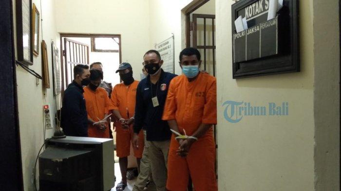 Komplotan Pencuri Motor di Ubud Gianyar Diamankan di Mapolsek Ubud