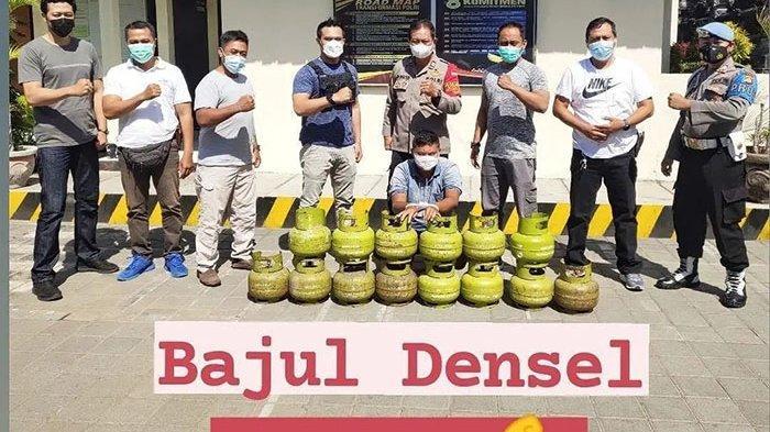 Pria yang Sempat Viral Mencuri Tabung Gas di Denpasar Akhirnya Diringkus Polisi