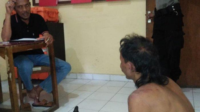 Kepergok Bobol Rumah Perbekel Dencarik Buleleng, Kletek Bonyok Dihajar Warga