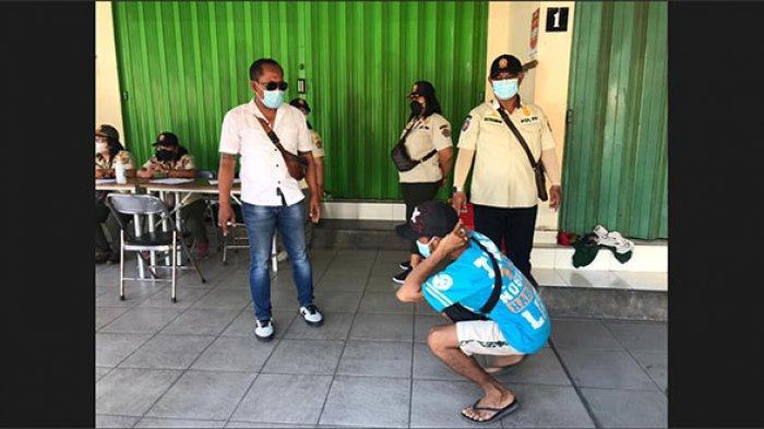 Gelar Sidak Prokes Saat Libur Lebaran 2021, Lima Pelanggar Terjaring di Denpasar