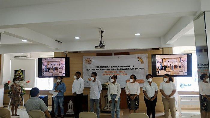 Pengurus IMMAPA Bali 2020-2022 Dilantik, Bertekad Ciptakan Mahasiswa Unggul untuk Bangun Tanah Papua
