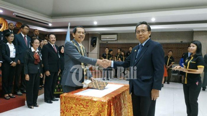 Segera Buka Prodi Digital Business, ITB STIKOM Bali Lantik Rektor dan 8 Pejabat Baru
