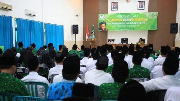 Pesan Bupati Banyuwangi pada Guru di Pelantikan Persatuan Guru Nahdlatul Ulama