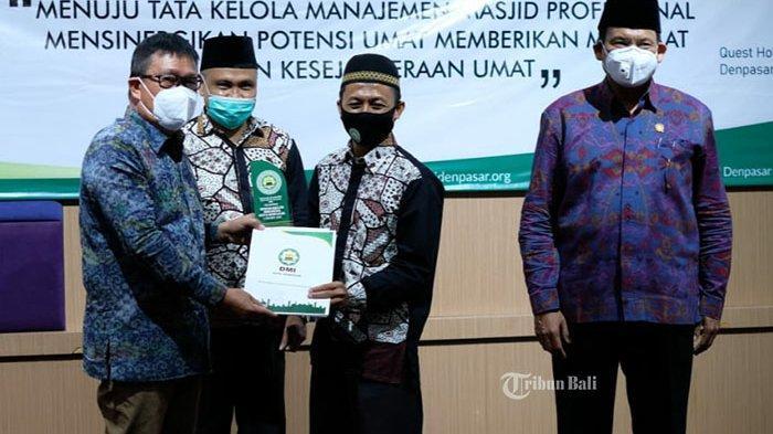 Pengurus Baru DMI Denpasar Bentuk Satgas Covid-19 di Masjid dan Musala