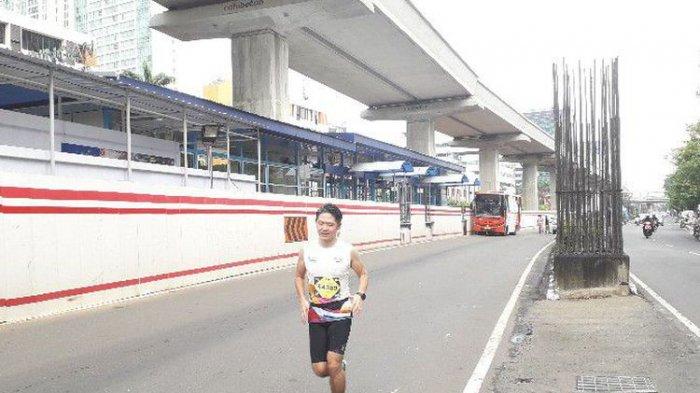 Seorang Pelari Electric Jakarta Marathon Meninggal Dunia di Tengah Perlintasan