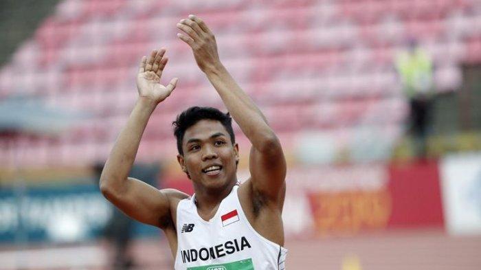 JADWAL Atletik Olimpiade Tokyo 2021: Lalu Muhammad Zohri Jadi Pesaing Justin Gatlin di 100 Meter