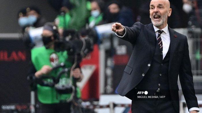 Prahara Rossoneri Jika Gagal Finish Empat Besar Liga Italia, AC Milan Ancam Pecat Stefano Pioli