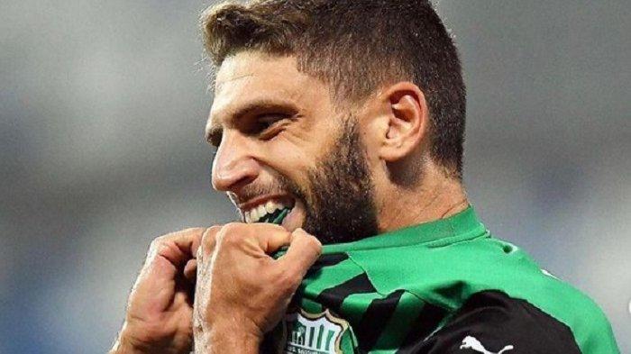 Hasrat Membara Pioli Miliki Penyerang Sayap Domenico Berardi, Keputusan Ada di Owner AC Milan