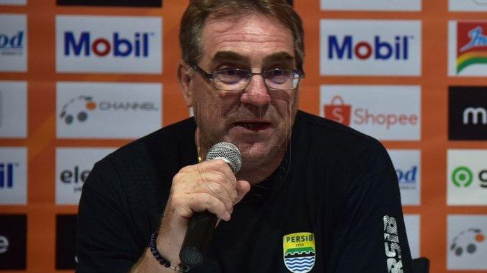 Persib Bandung Vs Bali United, Robert Respek dan Siapkan Amunisi Ferdinand, Ezra dan Farshad Noor