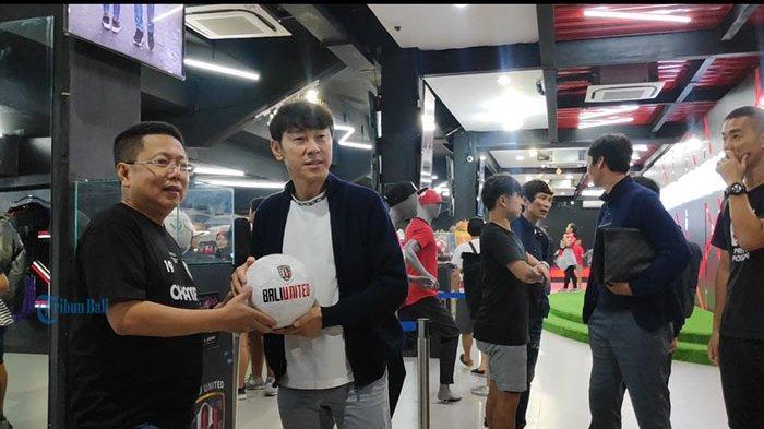 Izinkan 7 Pemain Bali United Tampil di Piala AFC, Pieter Tanuri Sanjung Shin Tae-yong