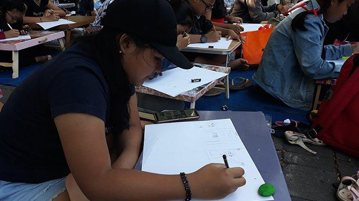 Pertama Kali Diadakan di Denpasar,PesertaPelatihan Komik Strip Capai 150 Orang