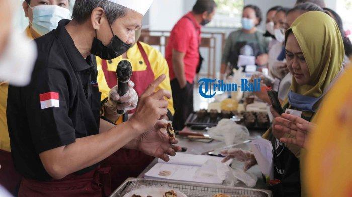 70 Usaha Rumahan di Denpasar Bali Ikut Pelatihan Membuat Kue, Diajarkan Membuat KueAla Toko