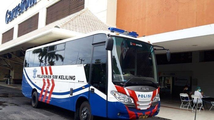 Ini Lokasi Pelayanan SIM Keliling Wilayah Polresta Denpasar