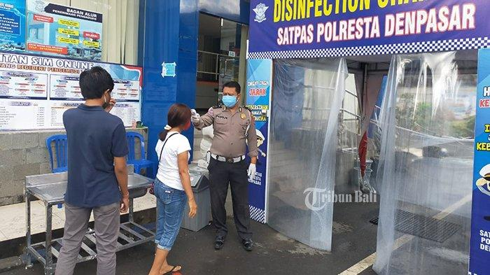 Selama Hari Raya Galungan, Pelayanan SIM di Polresta Denpasar Bali Tutup Sementara