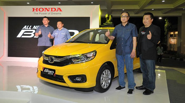 Honda Surabaya Center Luncurkan All New Honda Brio dan New HR-V di Bali