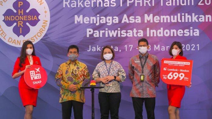 Dukung Pemulihan Pariwisata, AirAsia Perkuat Sinergi dengan PHRI Melalui Promo SNAP