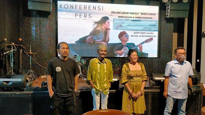 Berkonsepkan Jazz Religi, Dua Musisi Riwin Dacuba dan Andrea Maulana Rilis Single 'Bersyukur'