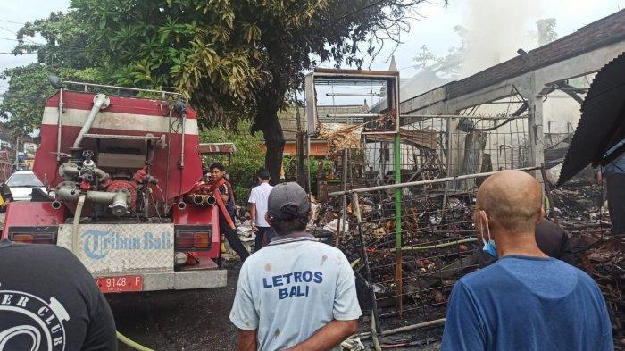 UPDATE: Kebakaran Ruko di Badung Bali, Damkar Memperkirakan Kerugian Sampai Rp 1,5 Miliar