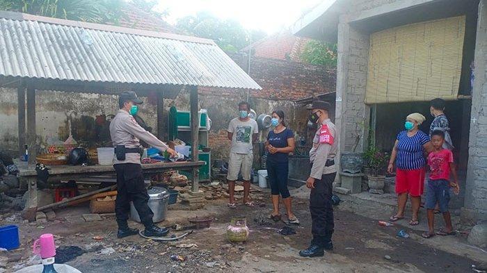 Ketut Eriantini Panik, Gas LPG 3 Kilogram Terbakar di Rumahnya Wilayah Jembrana