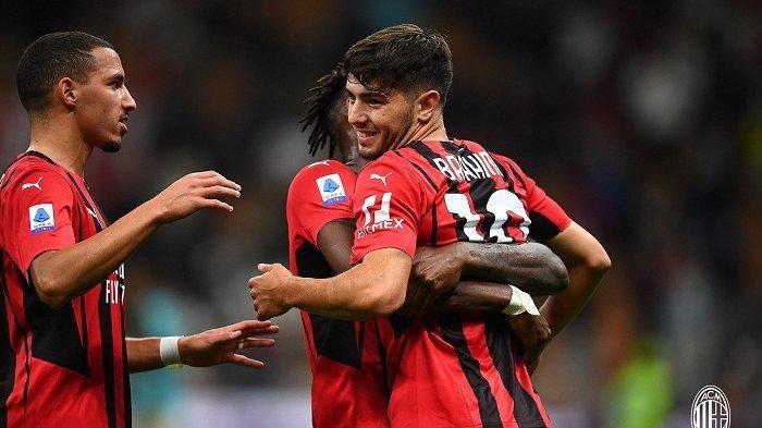 Sengitnya Rivalitas AC Milan dan Inter di Klasemen Serie A, Ini 5 Besar Liga Italia Sementara