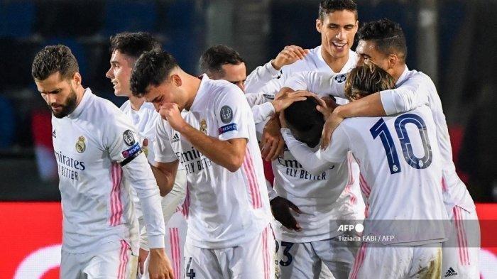 Prediksi Line-up Real Madrid Vs Atalanta, Los Blancos Hanya Butuh Hasil Imbang untuk Lolos
