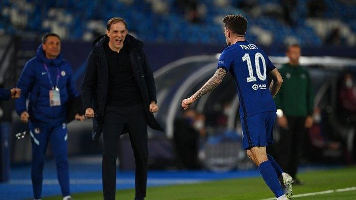 Update Hasil Real Madrid vs Chelsea Leg Pertama Semifinal Liga Champions 1-1, Pulisic Cetak Gol