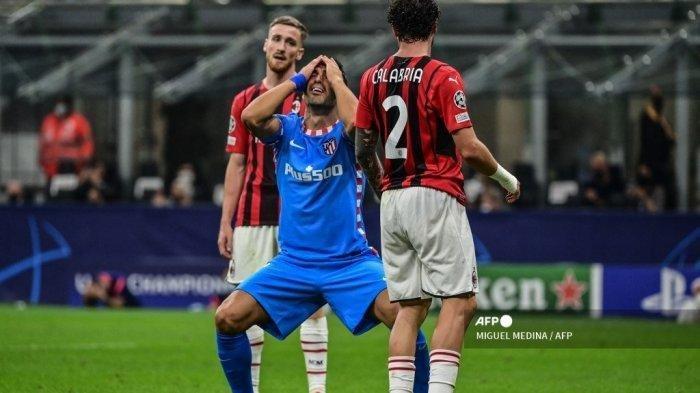 Update Hasil Liga Champions: Petaka Kartu Merah Kessie Bawa AC Milan Kalah 1-2 dari Atletico Madrid