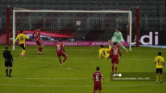 Update Hasil Bundesliga, Lewandowski Cetak 3 Gol Saat Bayern Munchen Hajar Borussia Dortmund