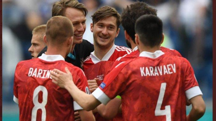 HASIL EURO 2020 GRUP B: Rusia Jaga Asa Melaju ke Babak Berikutnya Usai Menang Tipis atas Finlandia