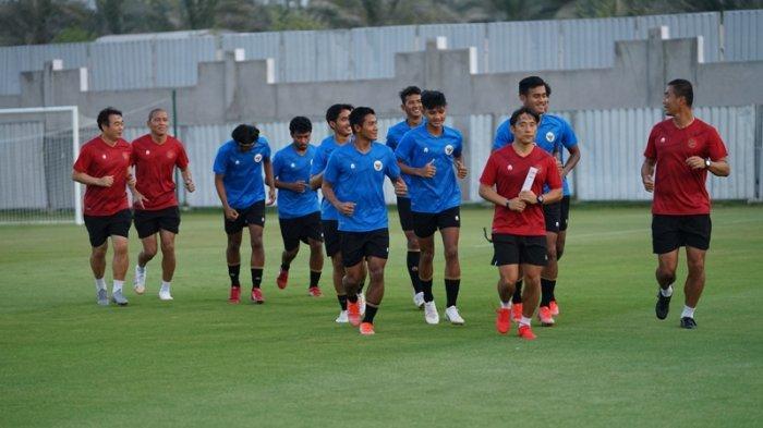 Berikut Line Up Timnas Indonesia Vs UEA, Shin Tae-yong, Lini Belakang Timnas Jadi Perhatian