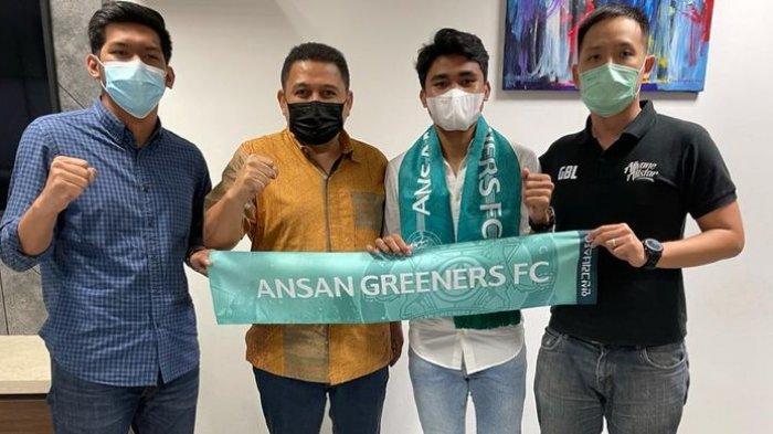 Asnawi Mangkualam Resmi Diperkenalkan Ansan Greeners, Teringat Dibelikan Makan Siang Shin Tae-yong