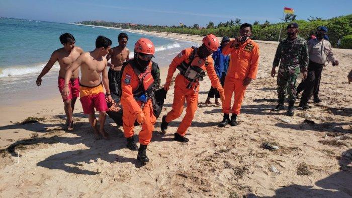 Pemancing Hilang di Tebing Water Blow Badung Akhirnya Ditemukan Tim SAR Dalam Keadaan Meninggal
