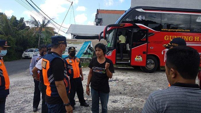 60 Orang Penumpang Bus yang Pulang Kampung ke Jawa Diizinkan Meninggalkan Denpasar, Ini Alasannya