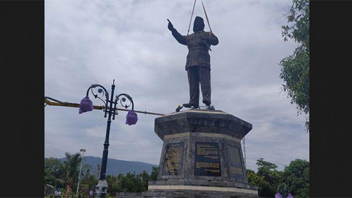 Patung Bung Karno Setinggi 8 Meter di RTH Buleleng Terpasang, Bakal Jadi Destinasi Wisata Nasional