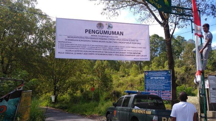 Jalur Pendakian Gunung Batur Masih Ditutup, BKSDA Wilayah II Bali: Mereka Termasuk Ilegal