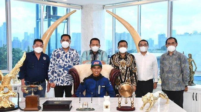 Dapat Dukungan Penuh dari Bamsoet, Galang Hendra Siap Tembus 10 Besar WorldSSP600 Musim Balap 2021