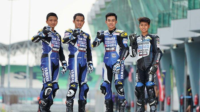 Resmi Diperkenalkan, Pembalap Yamaha Racing Indonesia Akan Berlaga di Asia Road Racing Championship
