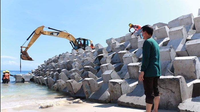 Progres Pembangunan Pelabuhan Sampalan di Nusa Penida Sudah 21 Persen, Target Selesai Tahun 2021